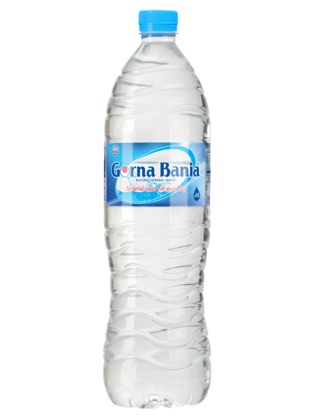 GORNA BANIA APA MINERALA NATURAL ALCALINA PH 9.8 1.5 L