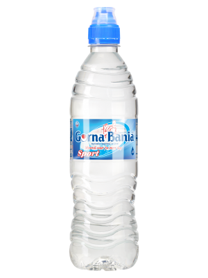 GORNA BANIA APA MINERALA NATURAL ALCALINA PH 9.8 0.75 L SPORT CAP