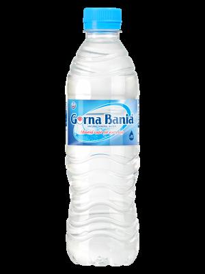 GORNA BANIA APA MINERALA NATURAL ALCALINA PH 9.8 0.5 L